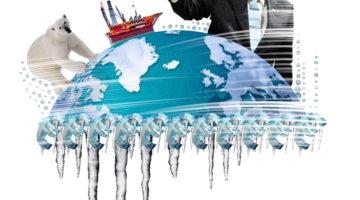 Arktisella alueella jylläävät taloudelliset intressit.