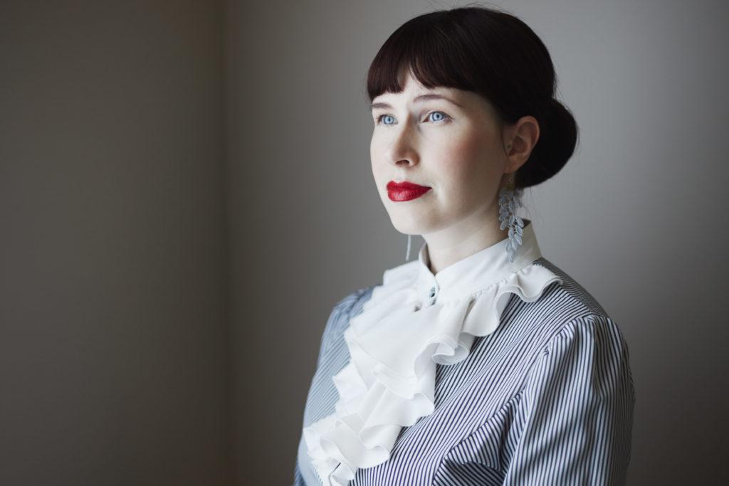 Kirjailija Johanna Laitila